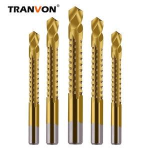 6pcs/10pcs HSS Titanium Slotting Drill Bits can drill Iron Aluminum Alloy Plastic board Twist Sawtooth Bit(China)