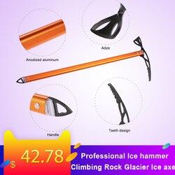 Оборудование для скалолазания на открытом воздухе, профессиональный молоток для колки льда, скалолазание, ледяной топор, походный дизайн, м...