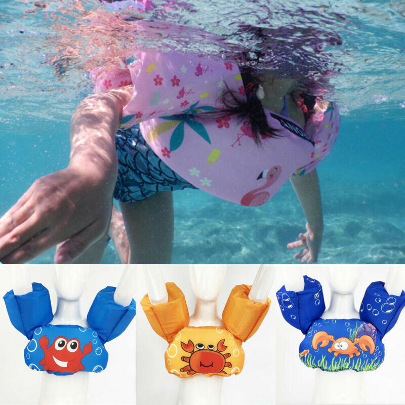 Children Life Jacket Puddle Jumper Life Jacket Vest Kids Swim Arm Bands Float