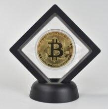 Moneda Virtual de oro Btc, moneda virtual, Litecoin, Onda, Ethereum, criptomoneda de perro, regalo de conmemoración de Metal dorado de bitcoin