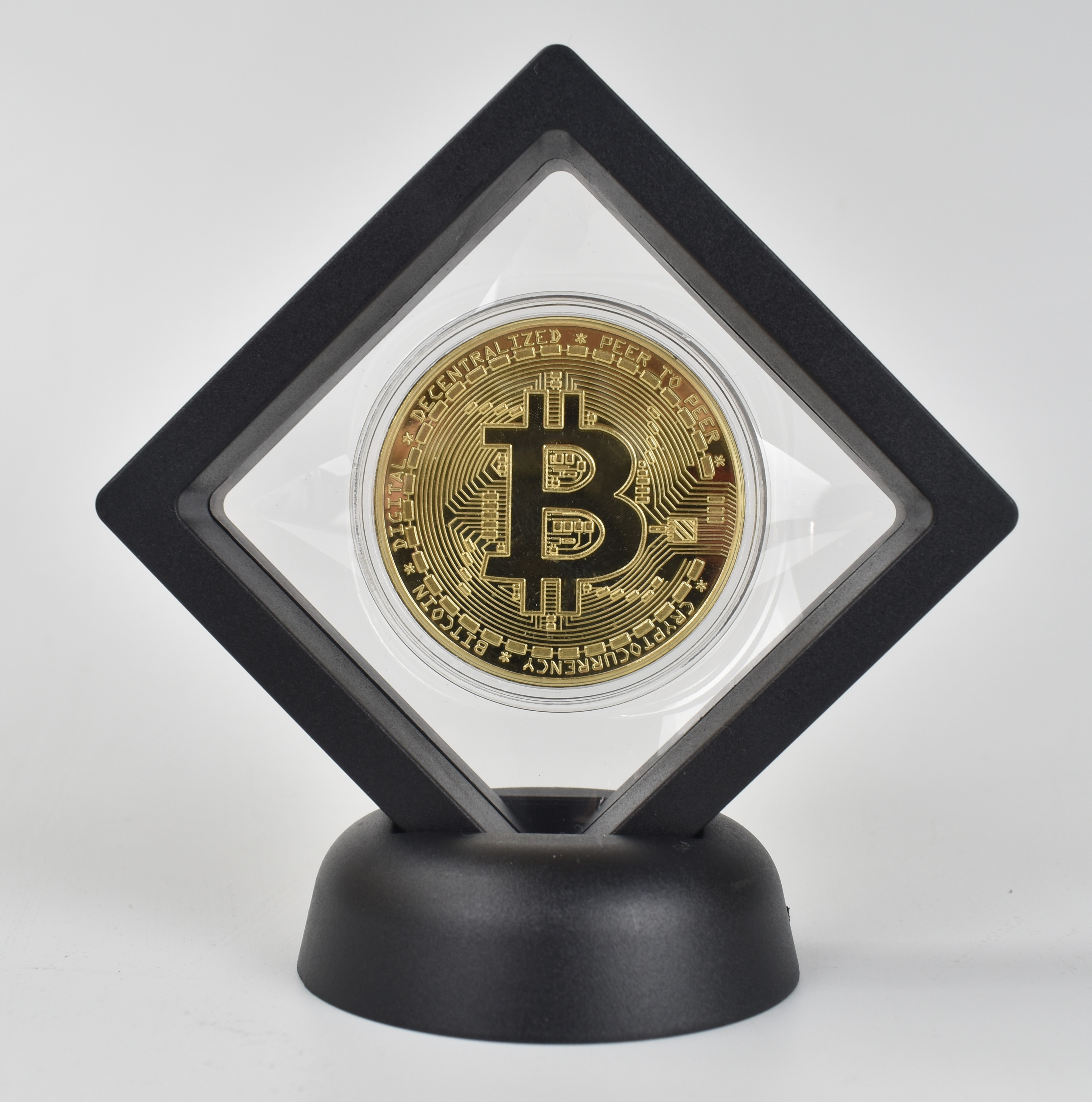 Bit Coin gold  Btc coin cions Litecoin Ripple Ethereum Cryptocurrency Metal Commemoration Gift Physical antique imitation-0