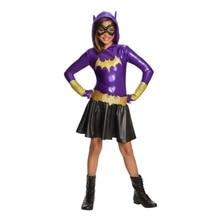 SuperHero Girls Hoodie Dress - Batgirl Costume for Kids TuTu  Halloween (3-9Years) Party
