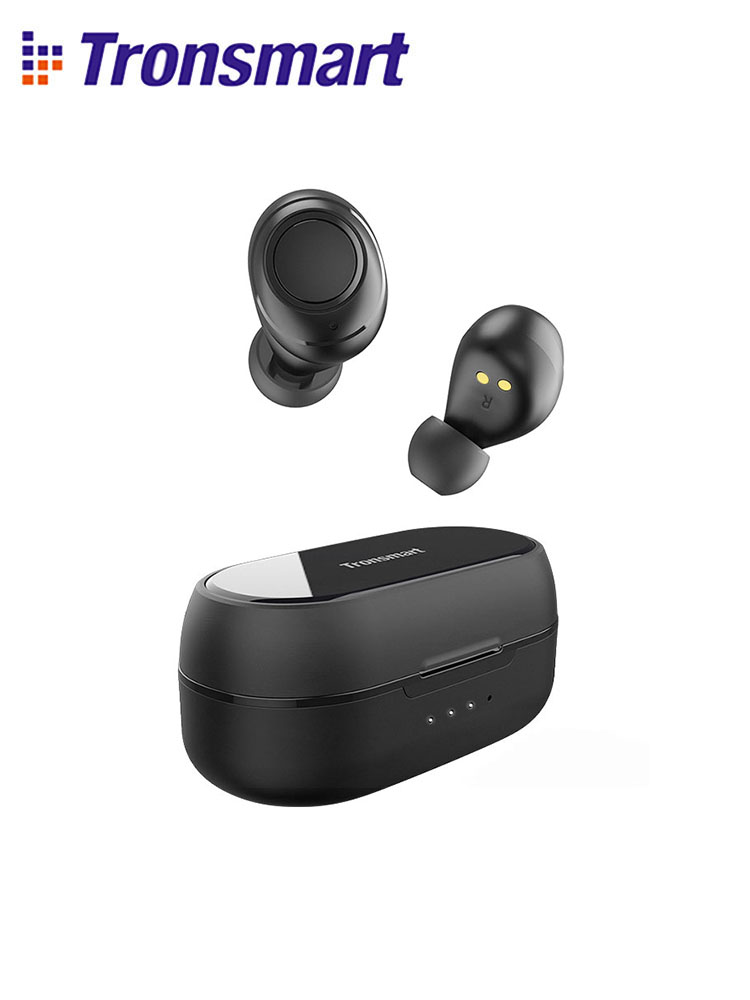 Tronsmart Onyx Free Bluetooth Wireless Earphone with aptX UV TWS Earphones QualcommChipQCC3020 IPX7 waterproofVoice Assistance