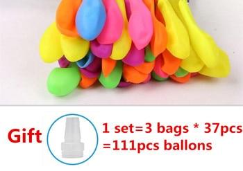 111pcs Water Bomb Balloons Amazing Filling Magic Balloon Children Water War Game Supplies Kids Summer Toys For Outdoor Beach