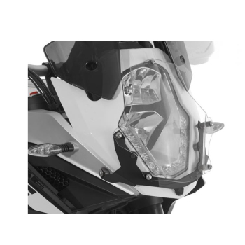 For KTM 1050 1090 1190 1290 Super ADVENTURE R L Headlight Guard Lens Protective Black Fram