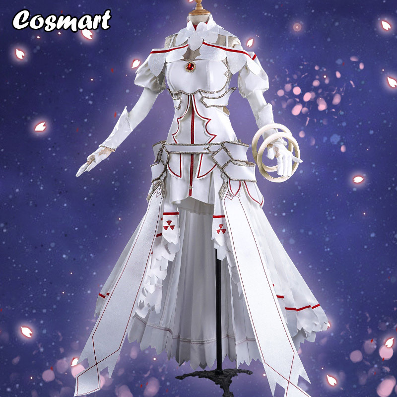 Anime Alicization Sword Art Online SAO Yuuki Asuna Cosplay Costume Uniform Dress Halloween For Women Free Shipping New