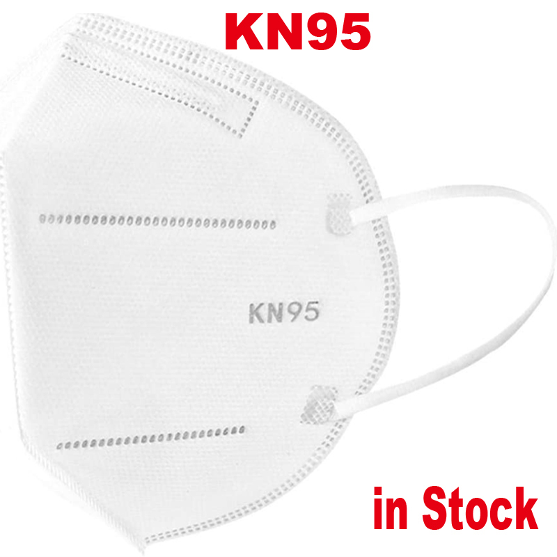 Kn95-reusable-face-mask-antivirus 5 Layers Ear Loop Covers Non-Woven Anti-dust Protective Face Covers Earloop In Stock!