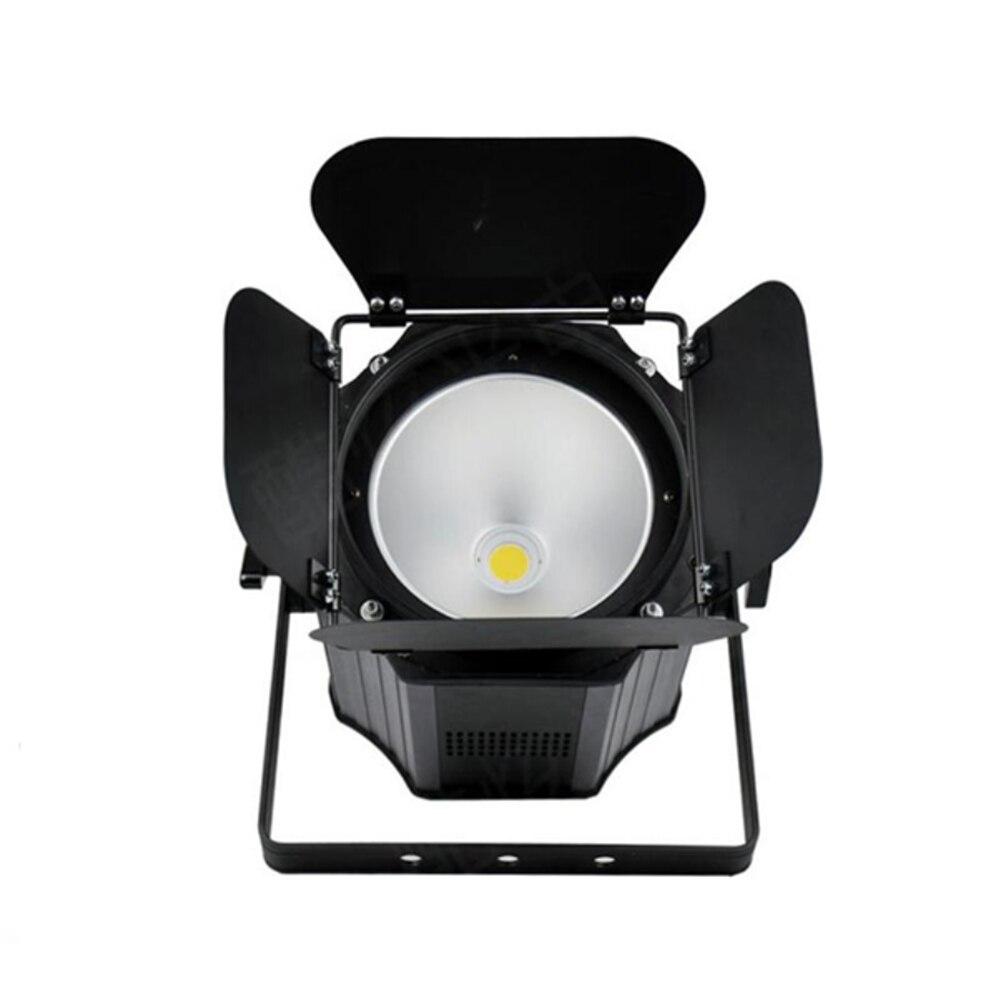 300W COB LED Par Light With Barn Doors Led Strobe Light Effect Stage Lighting Warm White Cold White 200W COB Par Dj Light