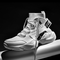 Chunky High-top Sneakers 5