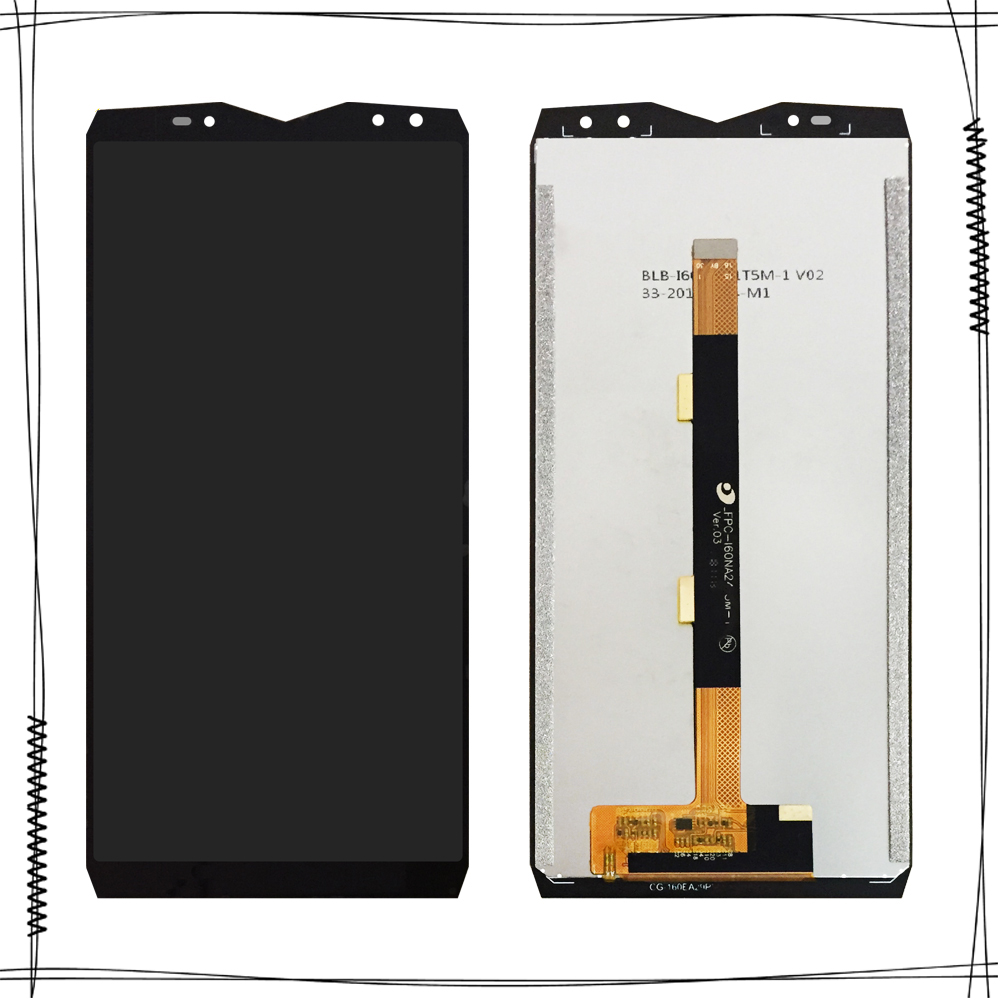 6.0'' For <font><b>Ulefone</b></font> <font><b>Power</b></font> <font><b>5</b></font> LCD Display +Touch <font><b>Screen</b></font> Assembly Digitizer Replacement For LCD <font><b>Ulefone</b></font> <font><b>Power</b></font> <font><b>5</b></font>/5s Display image