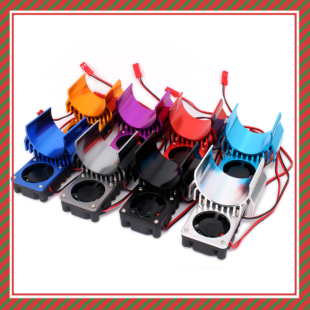 Motor Cooling Heat Sink Top Vented 540 545 550 Size For 1//10 RC Car/_hg