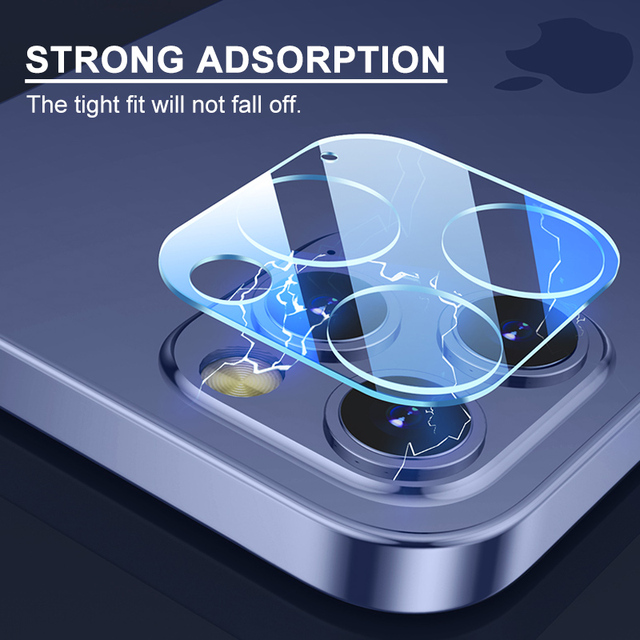 5A Camera Lens Glass For iPhone 12 Pro camera protector Screen on iPhone 11 camera protector 12 mini Max Tempered Glass 3
