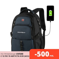 Backpack male with USB charging and theft protection suitable for 15-17 inch laptop multifunction travel backpack