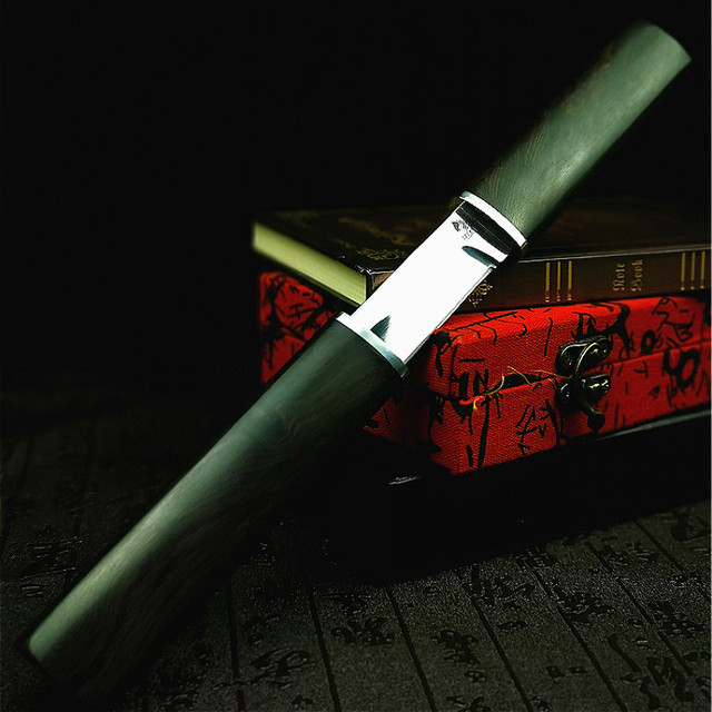 PEGASI  Thickened mirror sharp samurai sword high quality outdoor hunting straight tactical knife collection gift knife 3