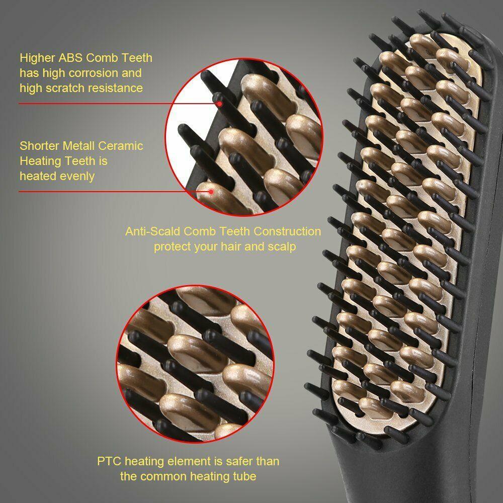 Beard Straightener Brush 8