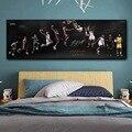Звезд баскетбола преобразует Баскетбол мечта художественные плакаты и принты холст Картины настенные картины для Декор в гостиную