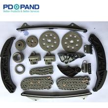 مجموعة أدوات سلسلة التوقيت لشركة هيونداي سوناتا سانتا في أزيرا حاشية نشأة كيا أمانتي سورينتو سيدونا بوريغو 3.3L 3.8L V6 Gas DOHC