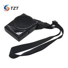 TZT Amplificador de voz MR1506, amplificador de voz recargable, altavoz de 10W para Coachers