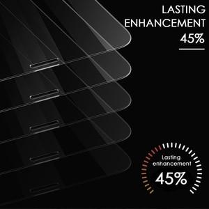 Image 3 - 3 pièces couverture complète verre trempé sur pour iPhone 11 Pro Max protecteur décran iPhone X XR XS Max Film de protection en verre bord incurvé