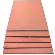 5x placa folheada de cobre lateral dupla diy universal pcb kit placa protótipo FR-4 fibra de vidro 7x10cm 1.5mm outro tamanho thicknes