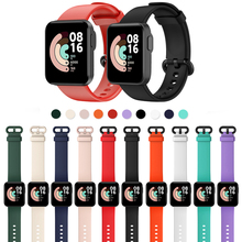 Bracelet de rechange pour montre connectée Xiaomi Mi Lite/Redmi, en Silicone, Sport, accessoires