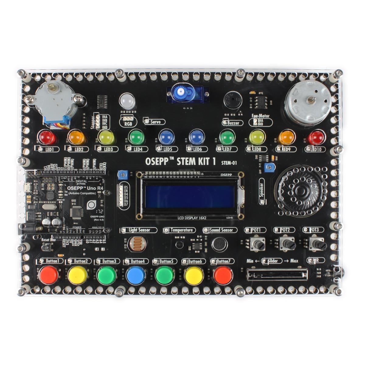 Osepp Stem Hub Alles In Een Geïntegreerde Ontwikkelomgeving-Arduino Start Kit Voor Programmering Elektronische Beginer 5