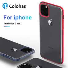 Heavy Duty Protection Case For iPhone 11 Pro Max X XS Four Corner Strengthen Silicon Clear Cover XR 6 6S 7 8 Plus
