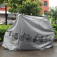 Universal Bike Motorcycle Rain Dust Cover Waterproof UV Proof Bicycle Protective Gear 210x100cm
