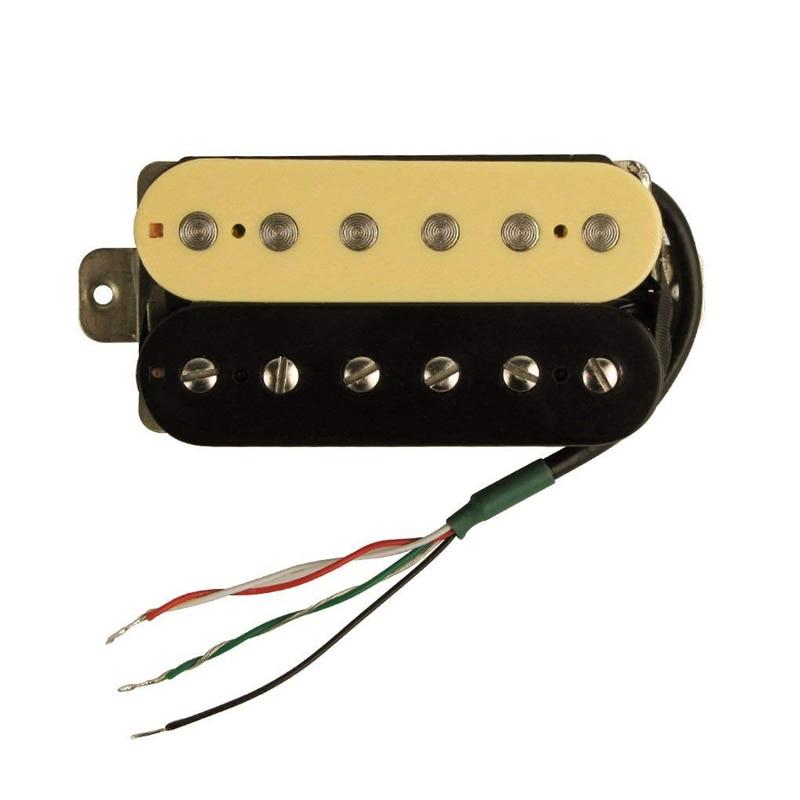Electric Guitar Humbucker Pickups Alnico V Pickup (Zebra + Black)