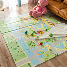 Infantrain Baby Play Mat Kids Rug Infant Crawling Mat Foldable Child Playing Mat Baby Floor Carpet for Kids Room Nursery Playmat