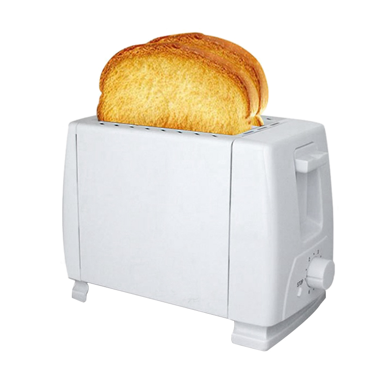 NEW Home Appliances Electric Bun Toaster Household Stainless Steel 2 Slices Toaster Bread Machine(US Plug)