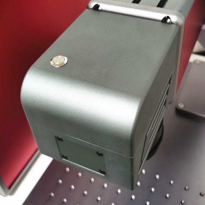 50W Split Fiber Laser Marking Machine With High Quality 110mm150mm Field Lens 3