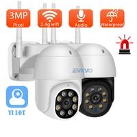 YI 1080P PTZ Wifi IP Camera Outdoor 4X Zoom digitale AI Human rileva 2MP Wireless Camera H.265 Audio Security CCTV Camera ONVIF