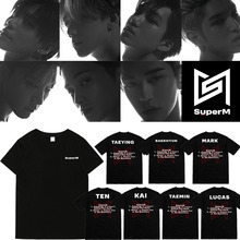 SuperM Short Sleeve T-Shirt (20 Models)