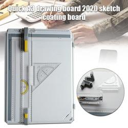Mesa de dibujo Manual con accesorios Placa de pintura KQS8