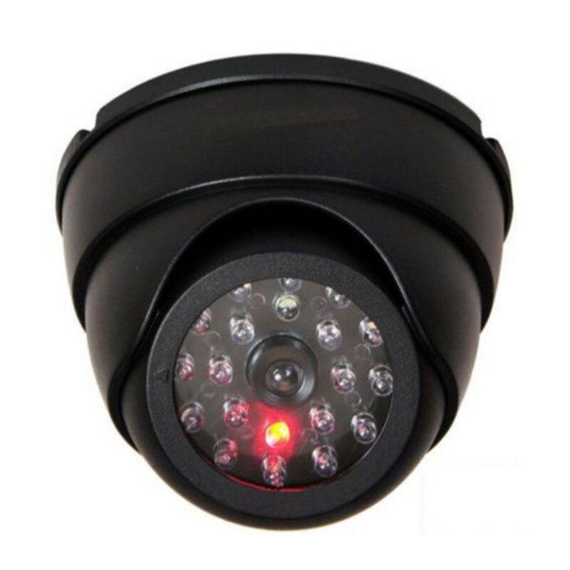 Smart Indoor/Outdoor Dummy Überwachung Kamera Hause Kuppel Wasserdichte Dome Gefälschte CCTV Sicherheit Kamera Mit Blinkende Rote LED Leuchtet