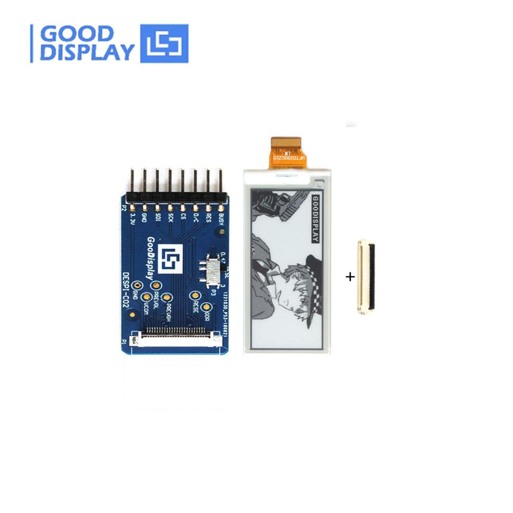 2.9 Inch E Ink Display For 296X128 Epaper Display