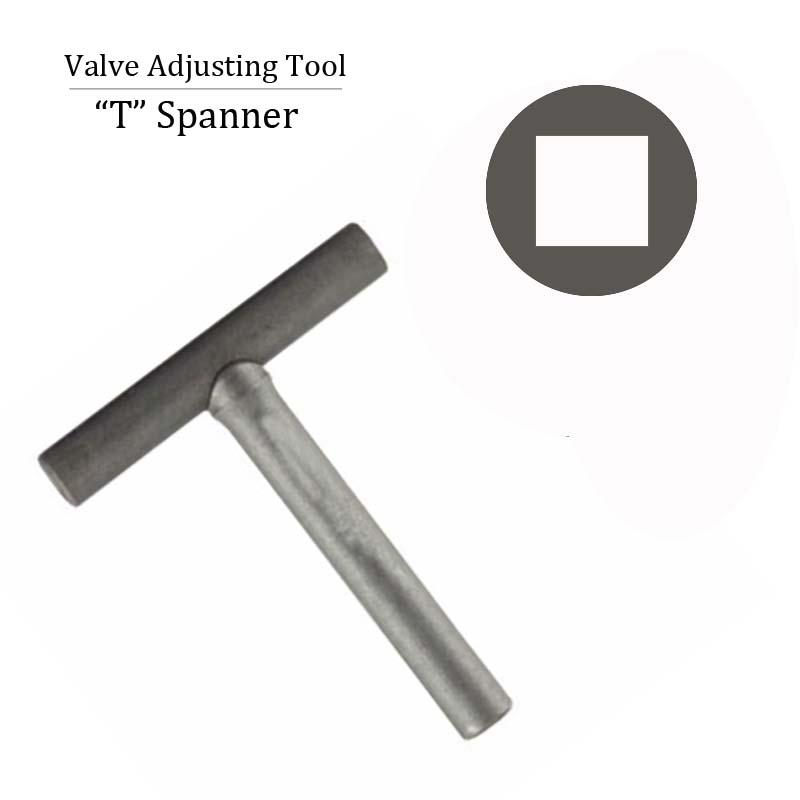 Motorcycle Engine Valve Adjusting Spanner Tool For GY6 50cc 150cc Scooter Moped ATV Valve Repair Replace Install Parts