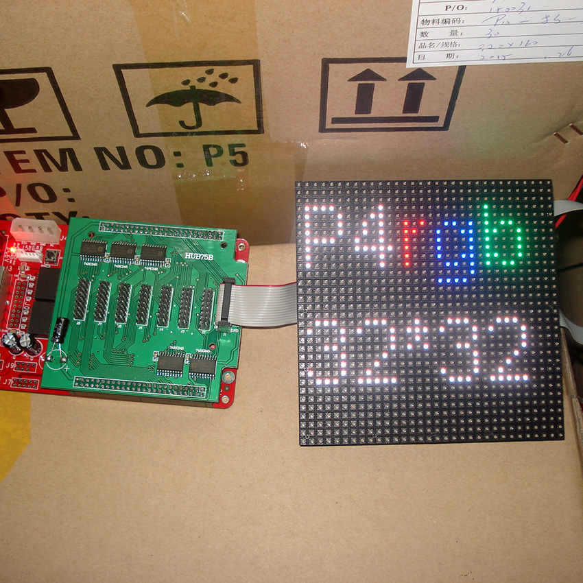 P4 indoor Voll farbe LED displays modul, SMD RGB P4 Indoor voll farbe led-panel, 256mm * 128mm/128mm * 128mm