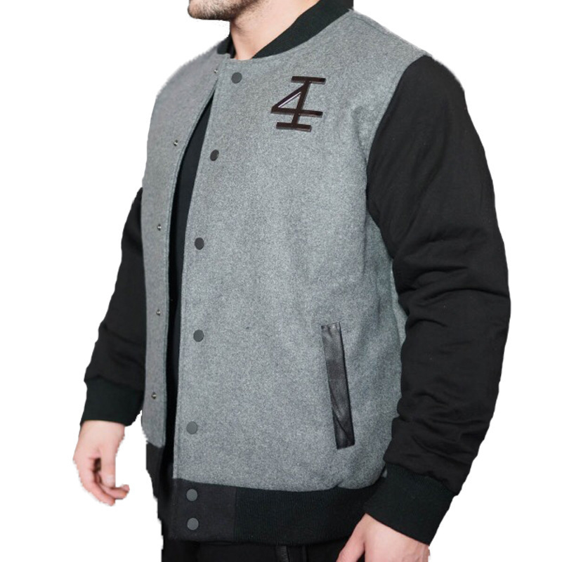 2018 New Style Muscle Fitness Brothers Sports Jackets Casual Cotton Thick Baseball Uniform V-neck Jacket