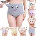 ZTOV 1 шт., хлопковые трусики для беременных, Трусики с высокой талией для беременных женщин, нижнее Белье для беременных, трусы для беременных,...