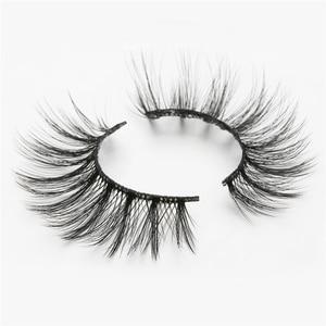 Image 5 - ISEEN 7 pairs natural false eyelashes fake lashes long makeup 3d mink lashes eyelash extension mink eyelashes for beauty