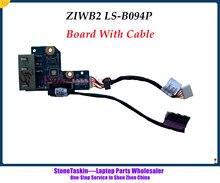 StoneTaskin оригинальный ZIWB2 LS-B096P для Lenovo Ideapad B40-45 B50-70 B50-80 B50-45 DC Jack разъем питания зарядная плата с кабелем тестирование