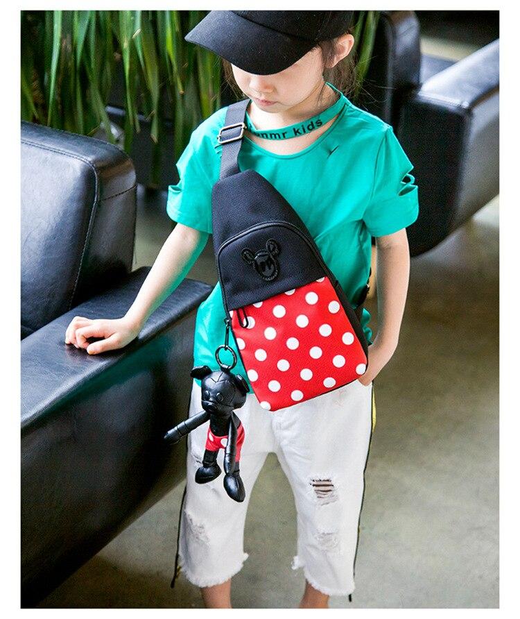 saco menino menina dos desenhos animados boneca