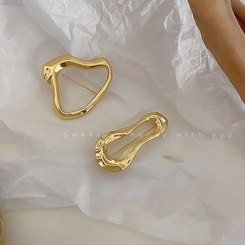 2021 модные унисекс золотые шпильки и броши Ретро брошь Channel большой жемчуг брошь для женщин