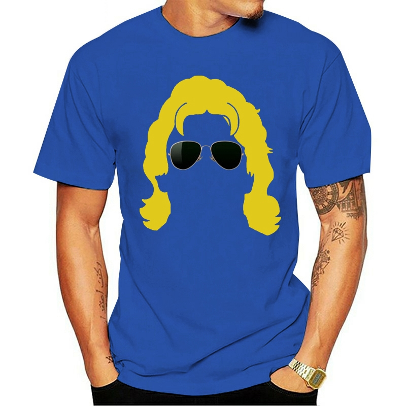 2020 Leisure Fashion 100% Cotton O-neck T-shirt Mans Unique Short Sleeves Men's Ric Flair Silhouette