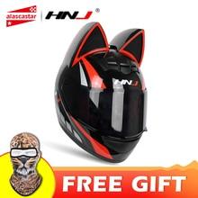 NITRINOS Motorcycle Helmet Women Moto Helmet Moto Ear