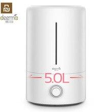 オリジナル Xiaomi Deerma 5L 空気加湿器ベビー家族妊娠中で寝室オフィス家庭用 AC に睡眠空気浄化 F628