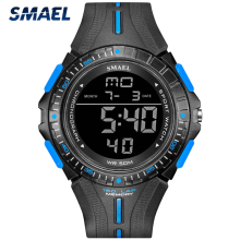 SMAEL Men's Military Digital Watch Top Brand Luxury LED Disp