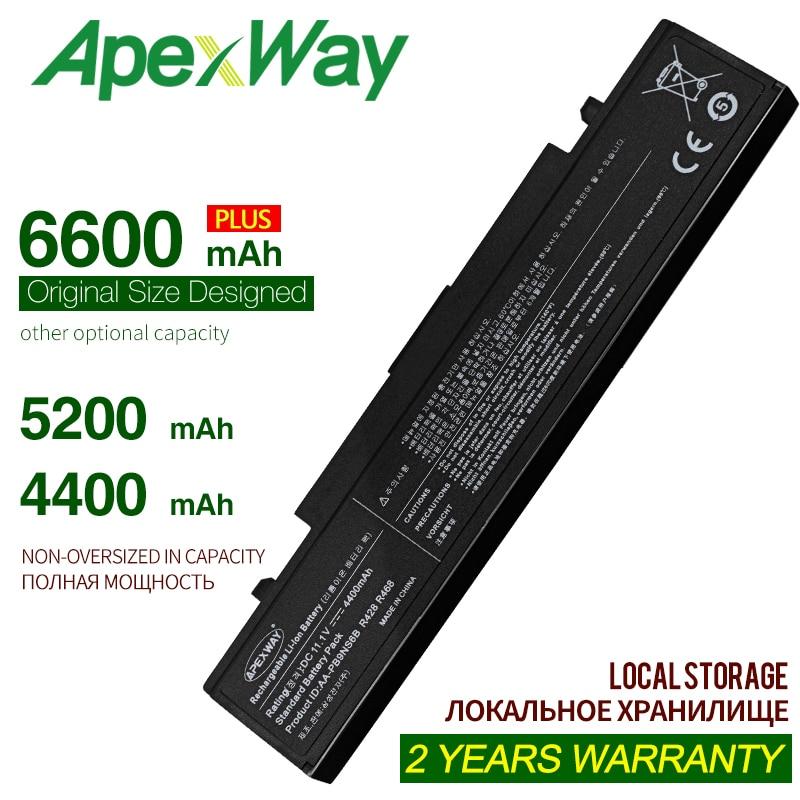 ApexWay Aa-pb9nc6b Np300e5c Aa-pb9ns6b Laptop Battery For Samsungrc530 Np355v5c R540 Np300e5a R519 Np350v5c R580 Rv515 R528 R580